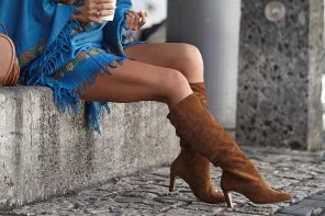 Remember Those Stunning Suede Boots?